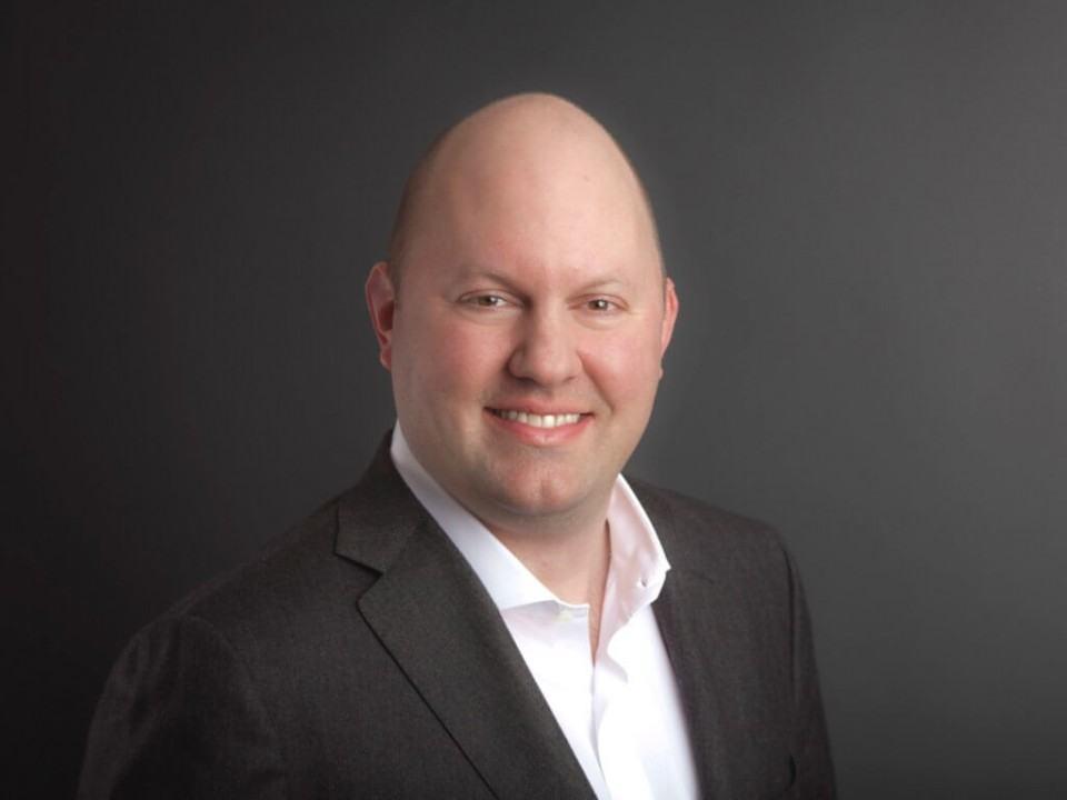 Marc Andreessen, investidor do Vale do Silício.