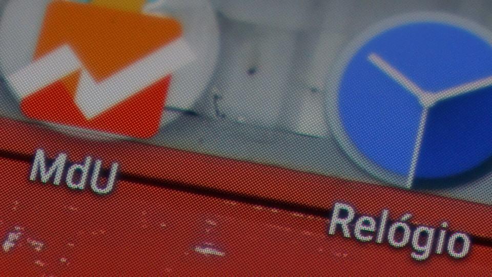 Detalhe da tela do Quantum Go.