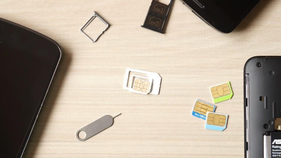 Mini, micro ou nano? Como é o SIM card de corte triplo