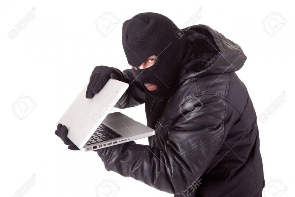 Oh não, um hacker de banco de imagens!