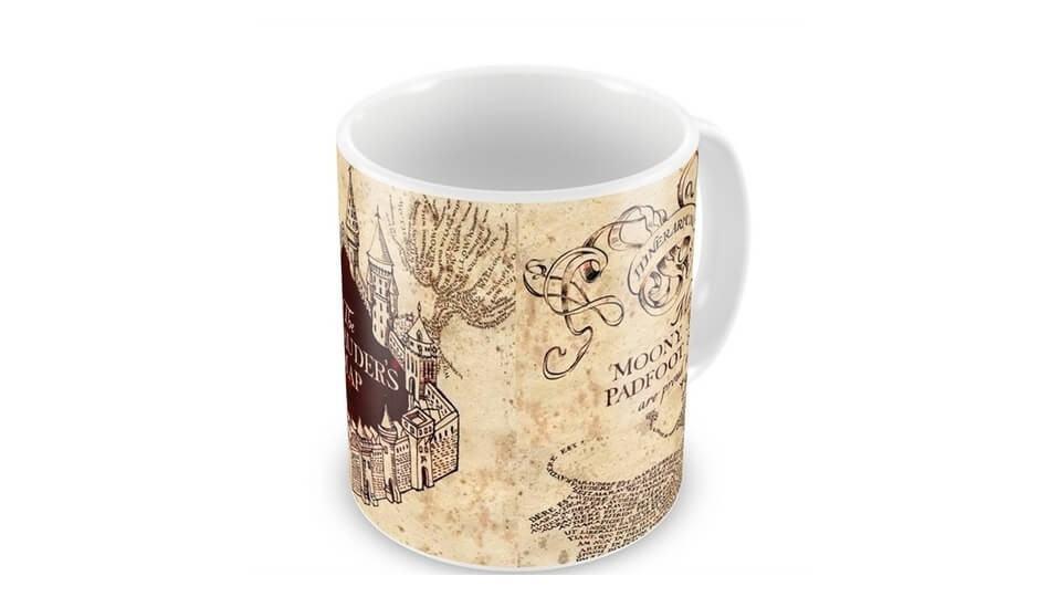 Caneca do Mapa do Maroto, de Harry Potter.