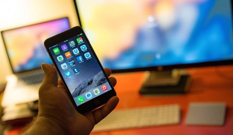 iPhone 6 Plus.