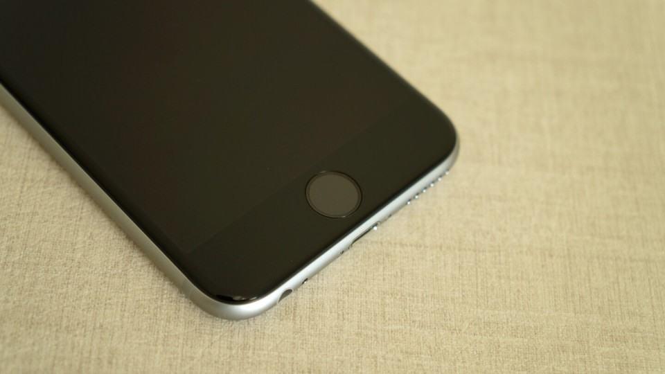 Botão home do iPhone.