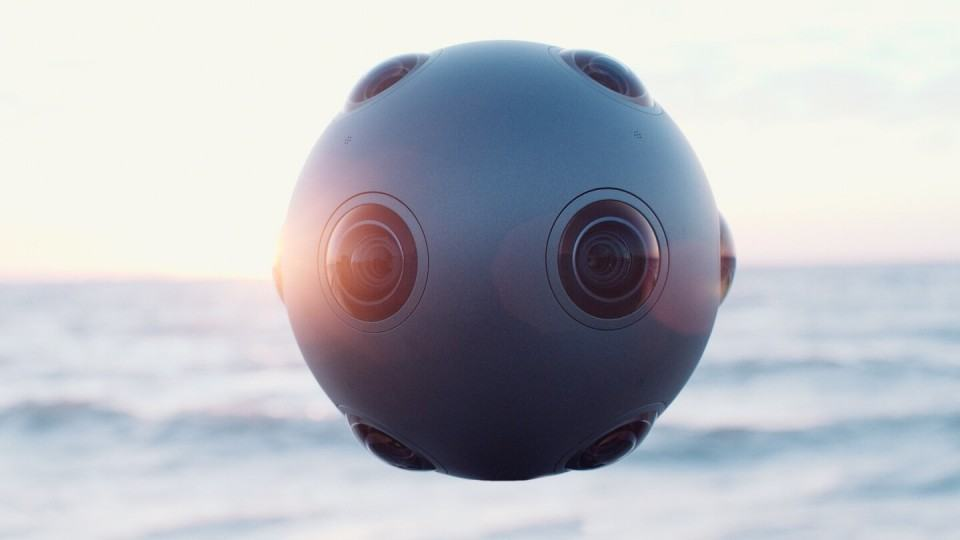 Imagem de divulgação da Nokia Ozo.