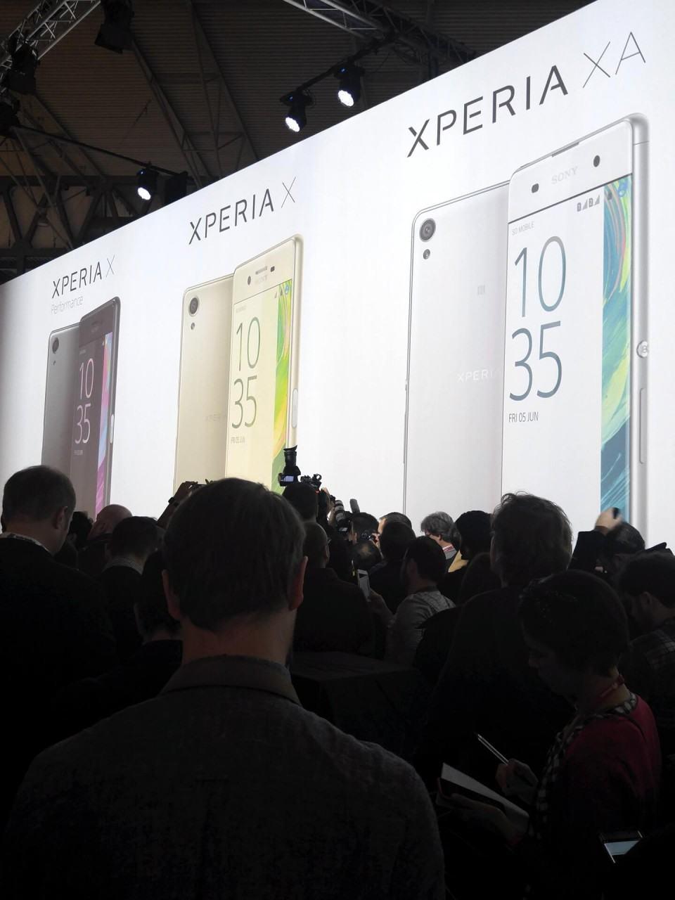 Estande da Sony na MWC 2016