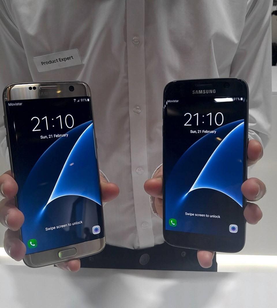 Galaxy S7 e S7 edge.