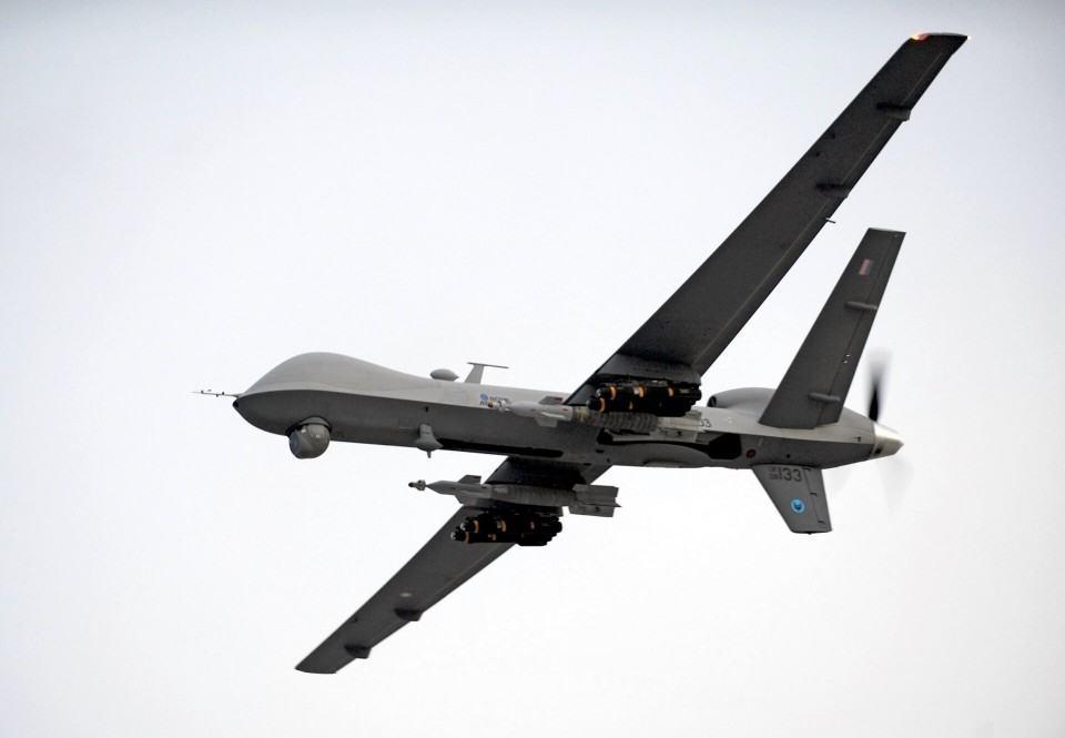 MQ-9 Reaper monitora os céus do Afeganistão.