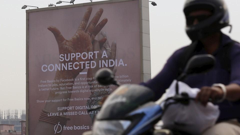 Em defesa da neutralidade da rede, Índia bane Free Basics do Facebook. O que fará o Brasil?
