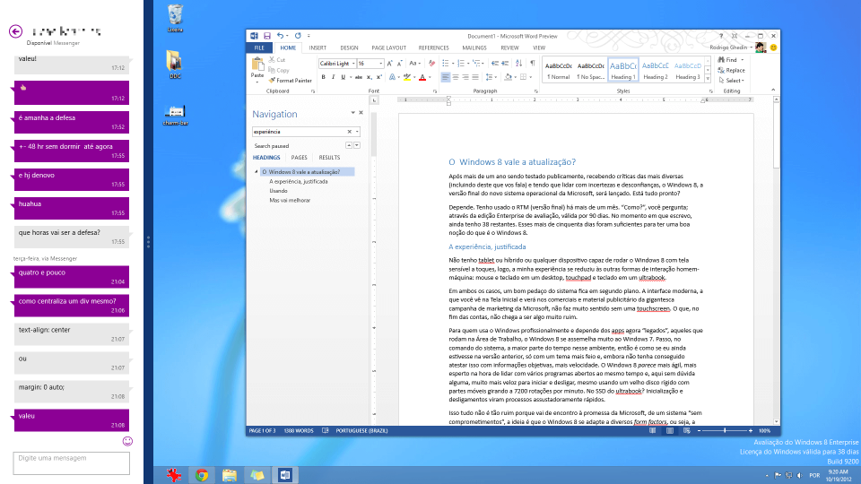 Print do Windows 8.