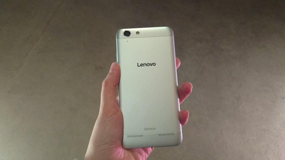 Acabamento do Lenovo Vibe K5.