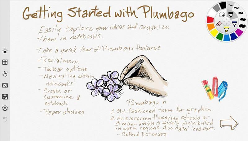 Print do Plumbago para Windows.
