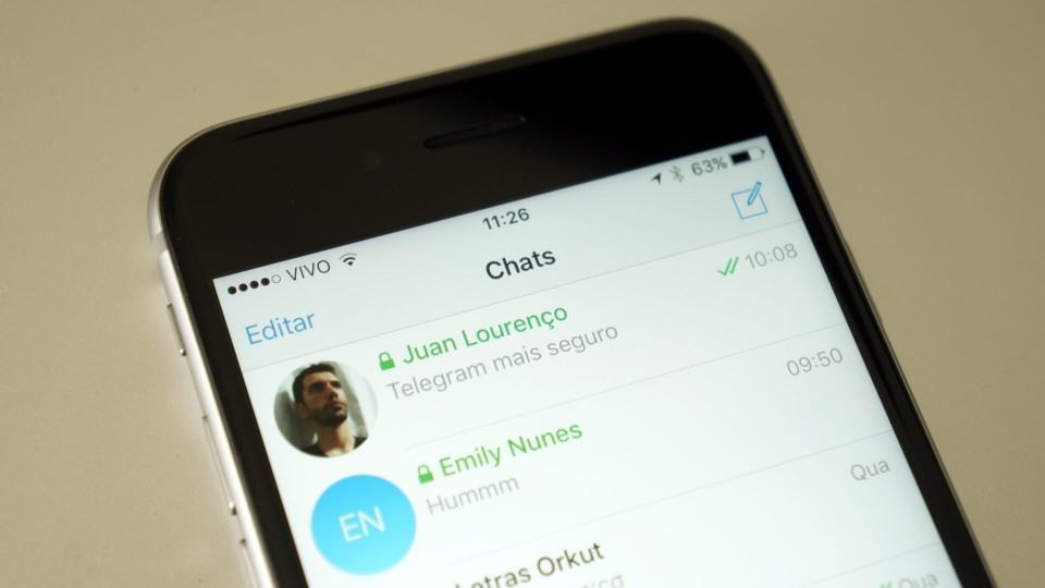 Como funciona o Chat Secreto do Telegram.