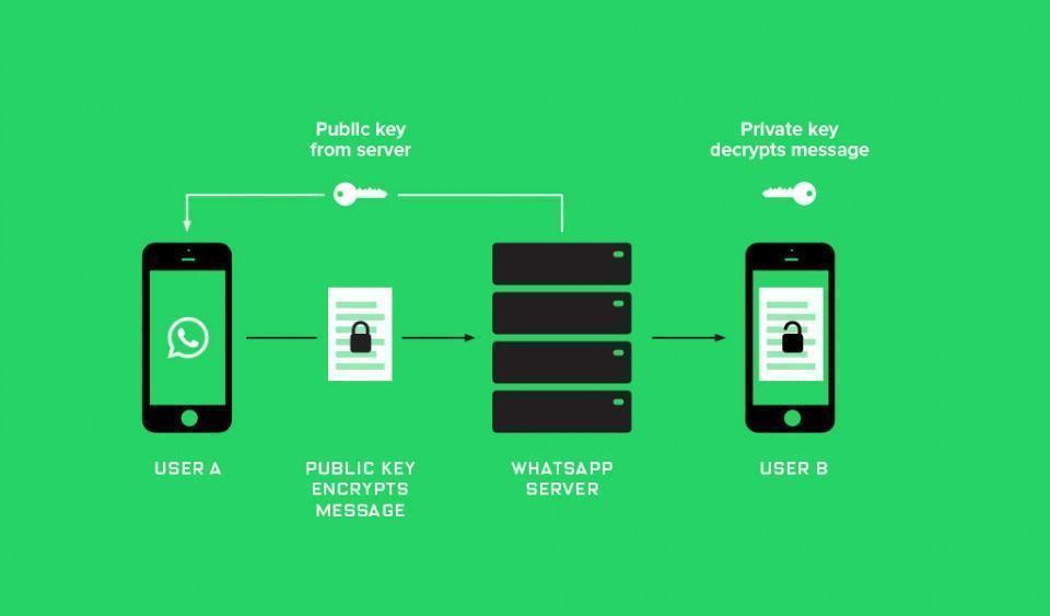 Como funciona a criptografia de ponta-a-ponta no WhatsApp.