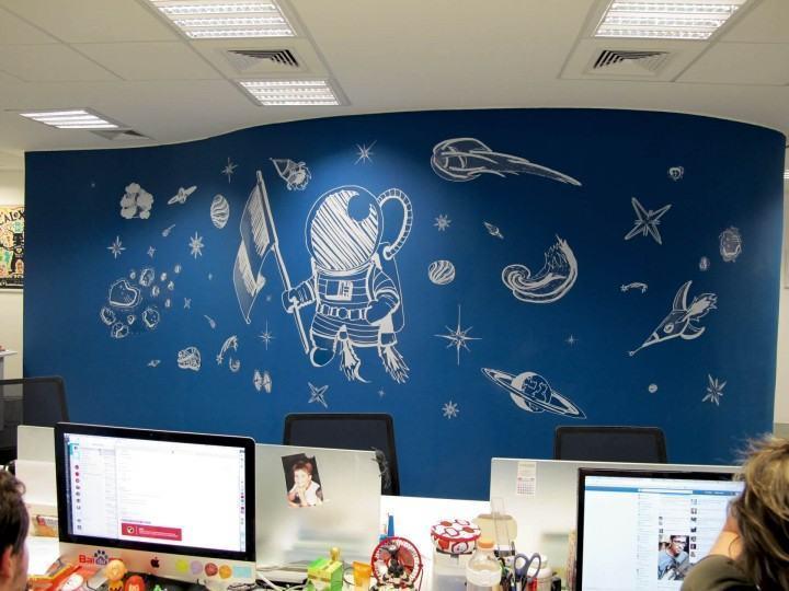 O escritório do Baidu no Brasil