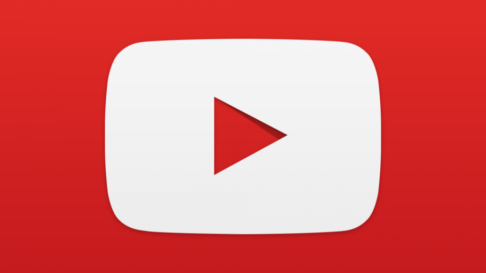Logo do YouTube.