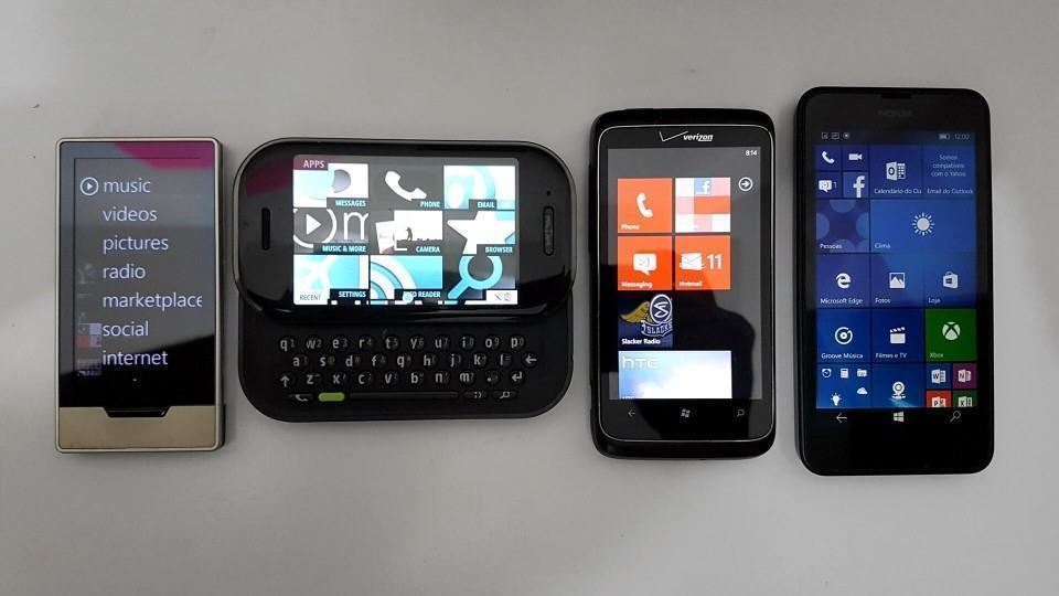As promessas e derrocada do Windows Phone