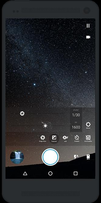 Print do Footej para Android.