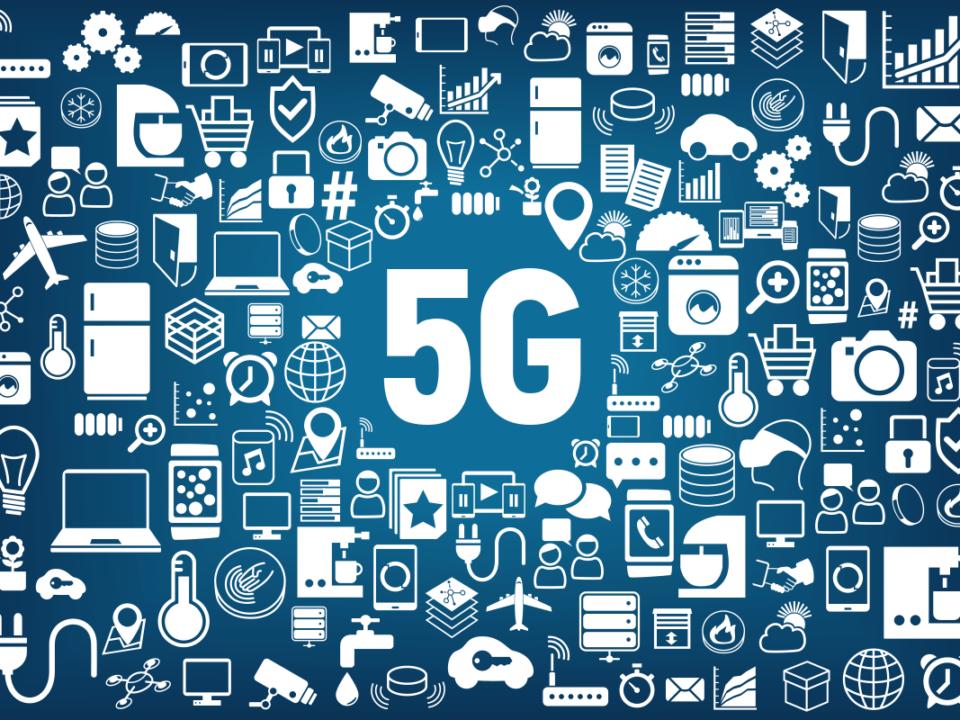 Coisas conectadas pelo 5G.