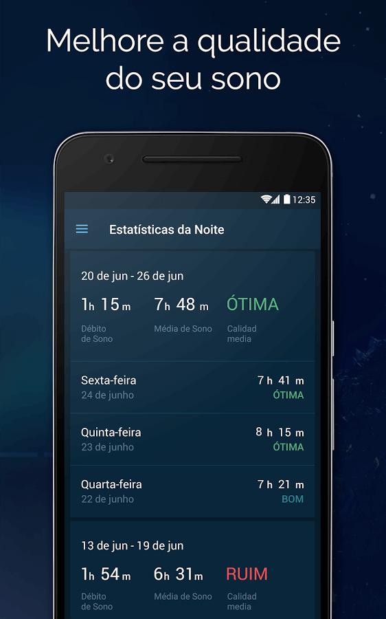 Print do Bom dia para Android.