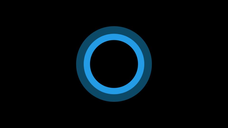 Logo da Cortana.