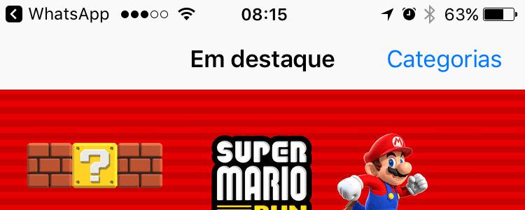 Atalho para voltar apps no iOS 10.