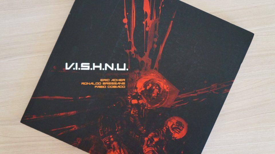 Capa da graphic novel V.I.S.H.N.U.