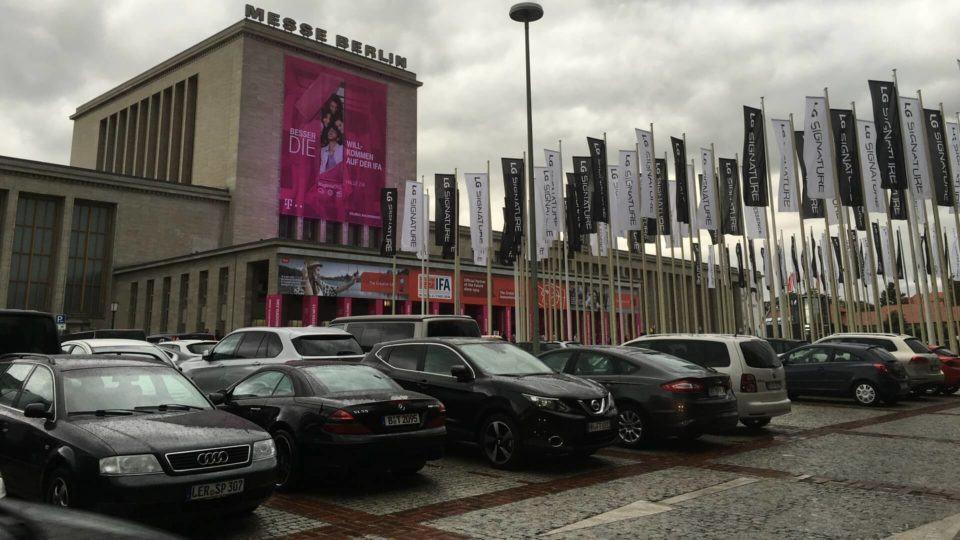 Fachada da Messe Berlin, onde acontece a IFA.