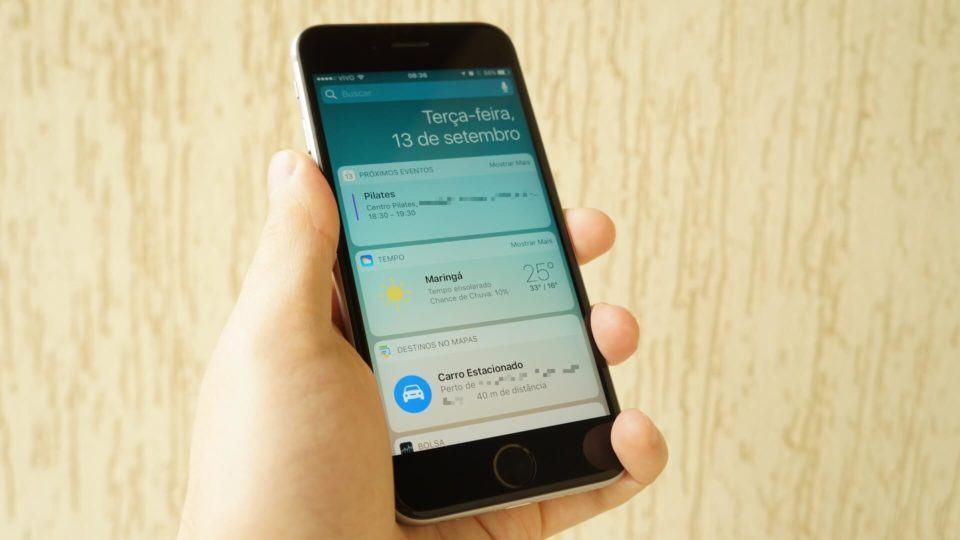 iOS 10: Menos elegante, mais funcional