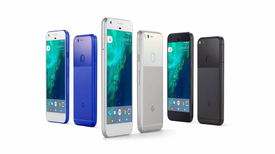 Imagem de divulgação do Google Pixel.
