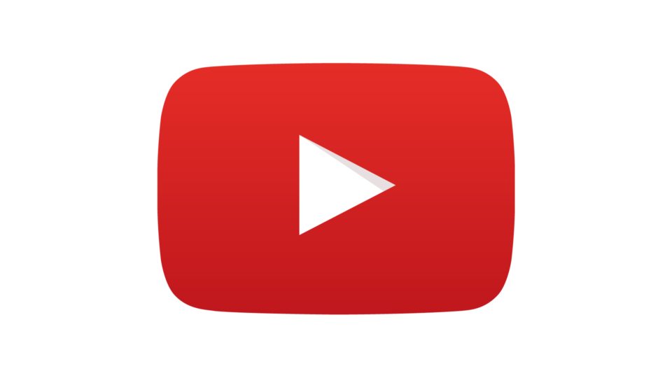 Logo grande do YouTube.