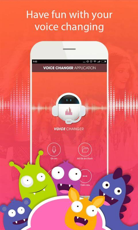 Print do Mudança de Voz com Efeito para Android.
