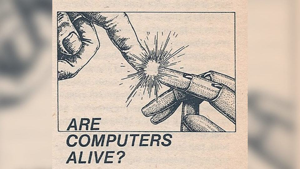 """""""O homem tem um sonho acerca da máquina"""""""