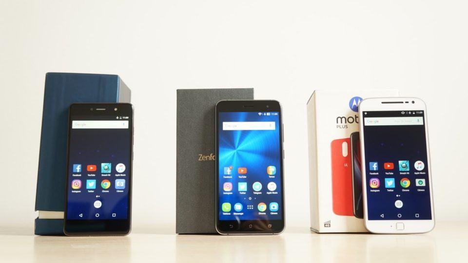 Quantum Fly, Zenfone 3 ou Moto G4 Plus?