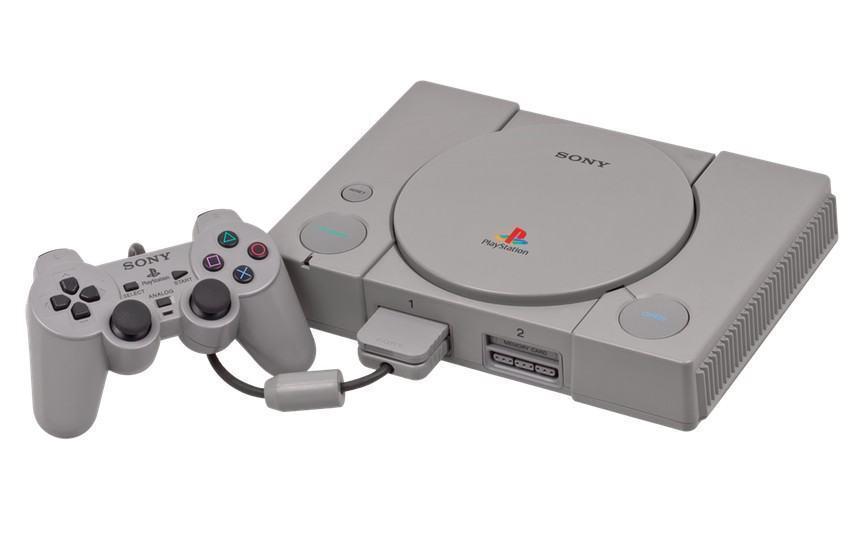 O primeiro PlayStation.