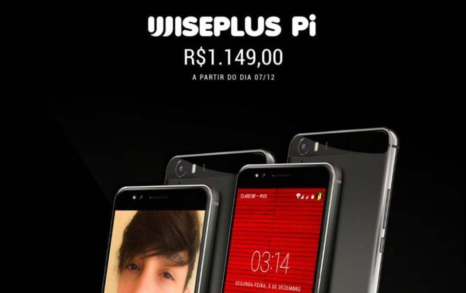 Imagem do Pi divulgada na página oficial da WisePlus no Facebook.