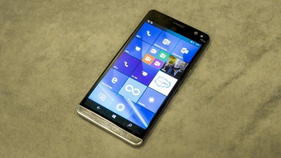 Elite x3, smartphone da HP com Windows 10 Mobile.