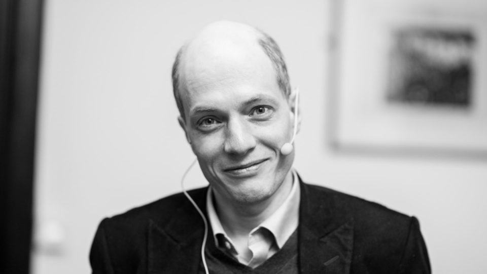 Foto de Alain de Botton.