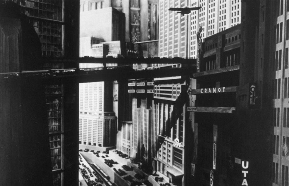 A cidade de Metropolis.