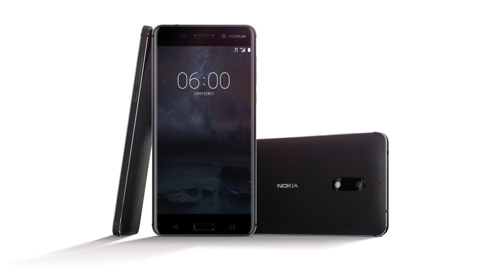 Foto de divulgação do Nokia 6.