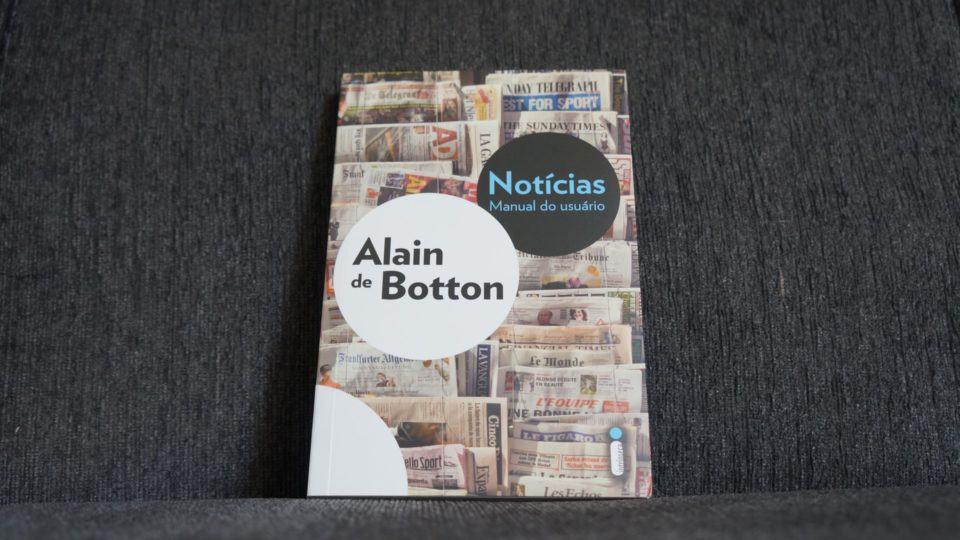 Livro Notícias: Manual do Usuário, de Alain de Botton.