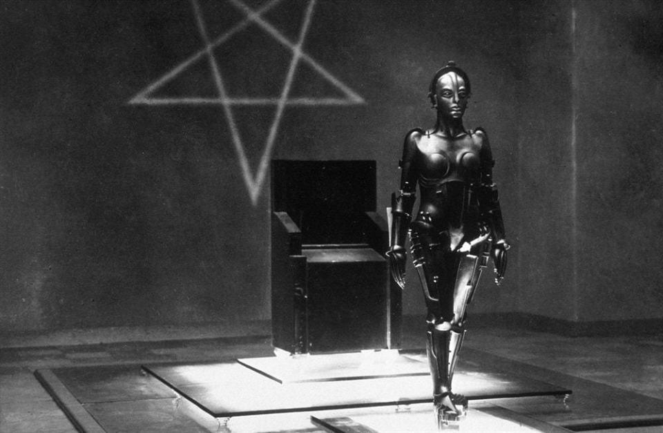 Robô de Metropolis.