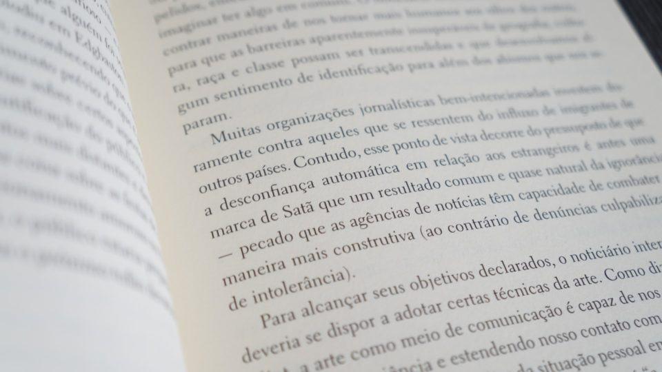 Trecho do livro de Alain de Botton.