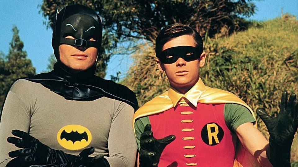 Batman e Robin dos anos 1960.