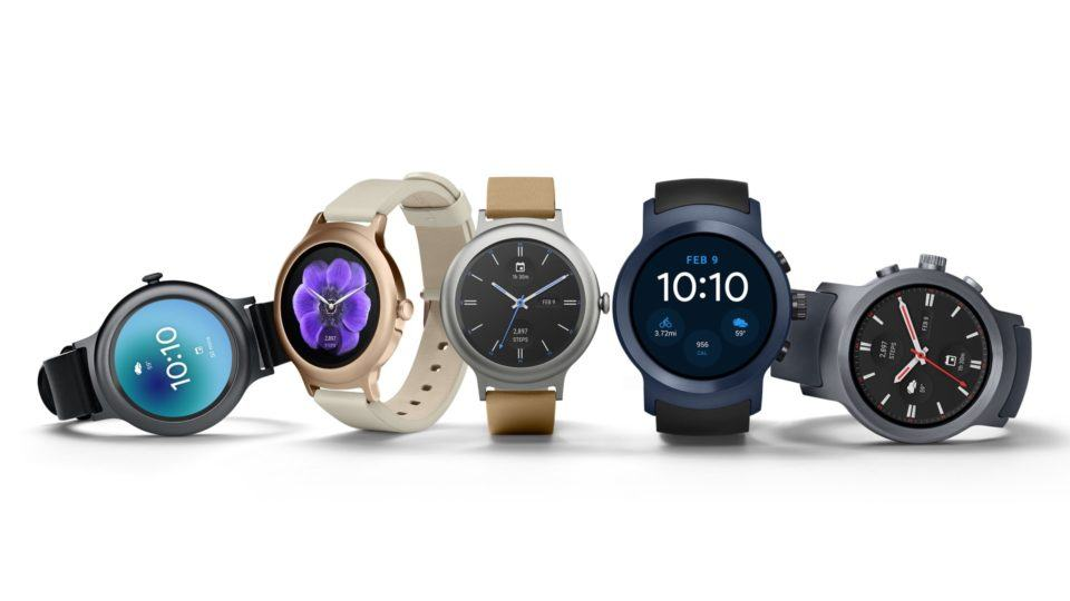 LG Watch Sport e Style com Android Wear 2.0.