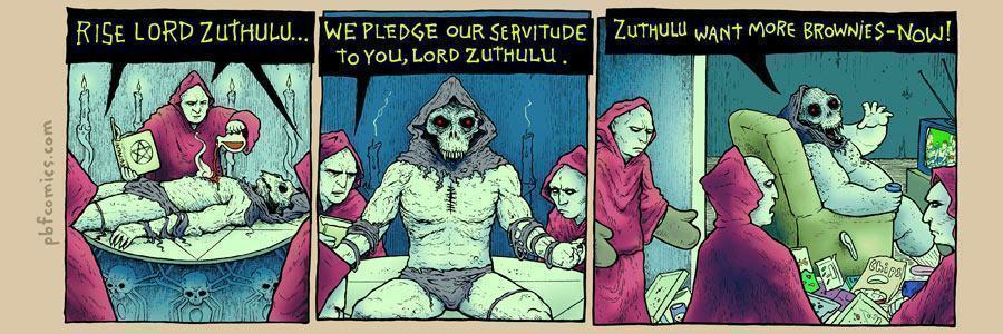 A ressurreição de Zuthulus.