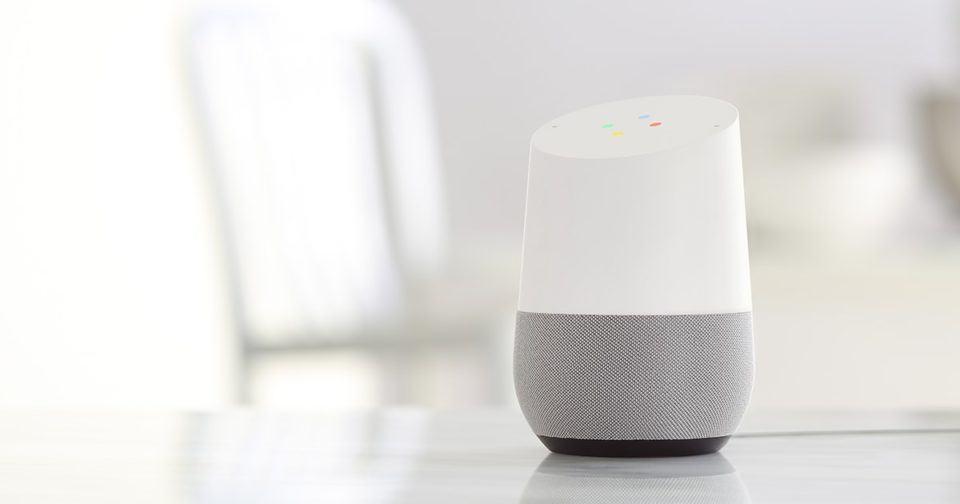 Google Home, assistente de voz do Google.