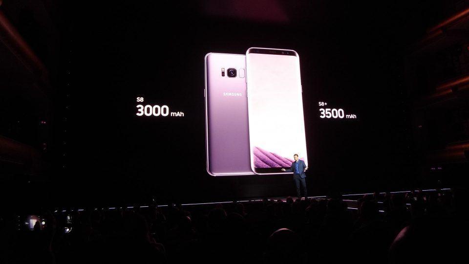 Baterias do Galaxy S8 e S8 Plus.