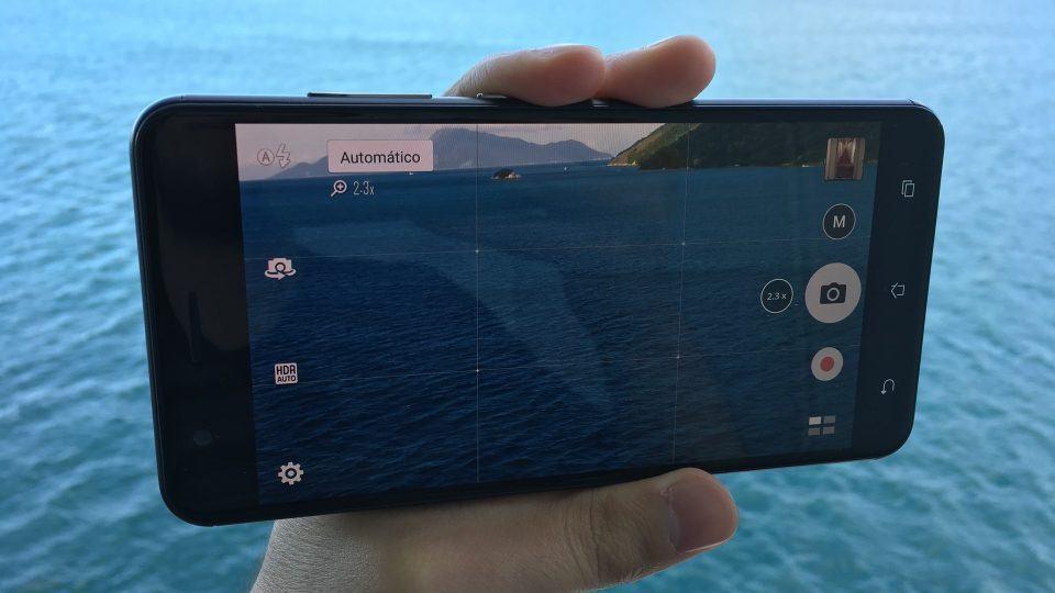 Câmera do Zenfone 3 Zoom.