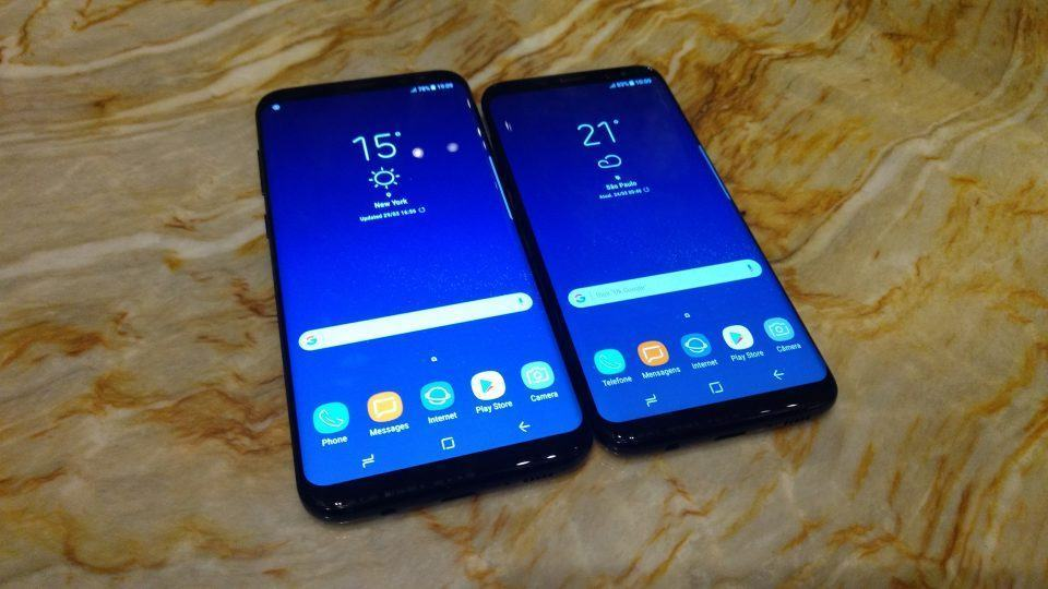 Hands-on Galaxy S8 e Galaxy S8 Plus