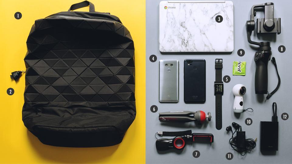 O que tem na sua mochila, Paulo Barba?